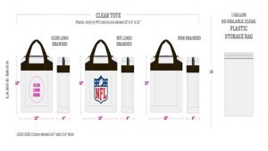 NFL Game Day Designer Bags