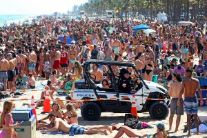 spring break cancelled in Fort Lauderdale