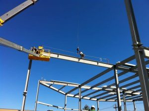 steel erection safety protocols